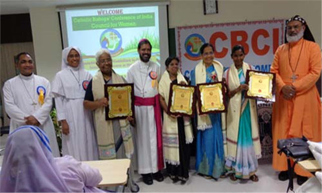 CATHOLIC BISHOPS AWARD WOMEN FOR MERITORIOUS SERVICE