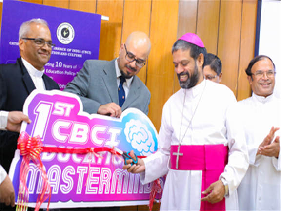 "Inauguration of ""CBCI Education MasterMinds"" in Association with Franciscan Solutions"